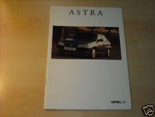 12055) Opel Astra españa folleto 199?