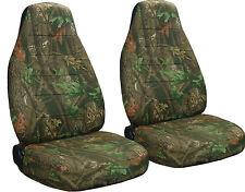 SUZUKI SAMURAI SEAT COVERS CAMO TREE DESIGN FRONT SET choose color