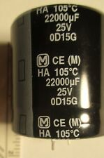 22000uf, 25v Radial Capacitor