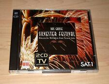 CD Album Sampler - SAT1 Das große Sylvester Festival - Klassische Melodien 2 CDs