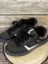 DC Shoes Mens Stag Black/Gum Skateboarding Shoes Size 8.5 320188