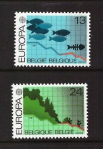 Belgium 1986 Nature Conservation/Europa CEPT set MNH mint stamps