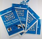 Seal a Card Seal-a-Card Plastic Self-Adhesive Laminating Sheets 4 Packages