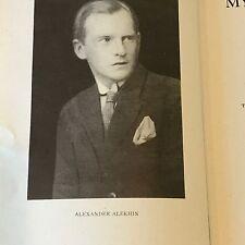 1908-1923 My Best Games of Chess by Alexander Alekhine Hardback Book (English)