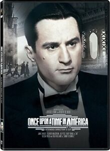 ONCE UPON A TIME IN AMERICA (DIRECTOR'S CUT) (EXTENDED) NEW DVD