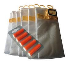 5 Cloth Dust Hoover Bags & Air Fresheners for VORWERK KOBOLD VK140 VK150 Vacuum