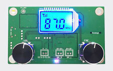 FM Radio Receiver Module Frequency Modulation Stereo Receiving PCB Board LCD