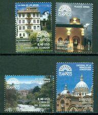 Ecuador Scott #1882-1885 MNH Cuenca 450th Ann CV$17+