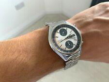 SUPER RARA SEIKO PANDA 6138-8020 Cronografo Automatico Orologio-RRP £ 1500