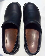 Sanita Black Stapled Danish Clogs Shoes Mens  Sz45
