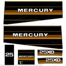 Mercury 1984 25HP Hors-Bord Moteur Stickers - Hors-Bord Moteur Stickers