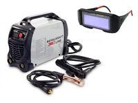 Saldatrice Inverter Cavi Con Mascherina Elettrodo Professionale 300A + OMAGGIO
