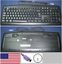 Clavier Qwerty US DOMESTIQUE Chicony KB-0325 port PS/2