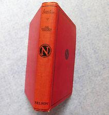 Ivanhoe by Sir Walter Scott vintage school English text book Nelson Classics