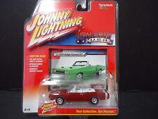 Johnny Lightning Dodge Coronet 1969 rouge 1/64 jlmc001b