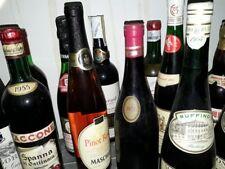 Bottiglie di alcolici da collezione (Florio, Barolo Mirafiore, Chanut e altre)