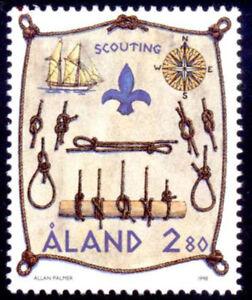 Aland 1998 Scouting, Knots, Emblems etc, MNH/UNM