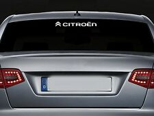 For CITROEN - Rear Screen VINYL CAR DECAL STICKER ADHESIVE - DS3 DS4 300mm long