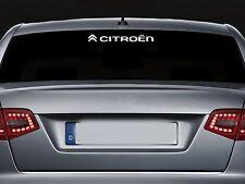 Per CITROEN-Schermo Posteriore Adesivo Decalcomania In Vinile Auto Adesivo-ds3 ds4 300mm di lunghezza