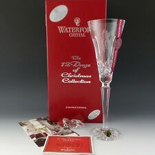 Waterford Crystal 12 Days of Xmas 11 PIPERS Piping Colleen Flute 11th Eleven