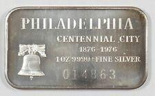 TREFF Silberbarren 1 Unze USA Silver Art PHILADELPHIA Madison Mint
