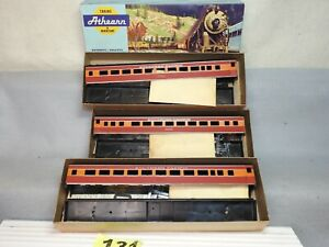 SET OF THREE ATHEARN HO SCALE #1818 SOUTHERN PACIFIC PASSENGER COACH KITS NEW