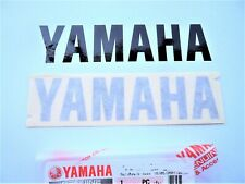 GENUINE Yamaha Tank BLACK Sticker Decal YZF R1 R6 Fazer 120mm x 30mm