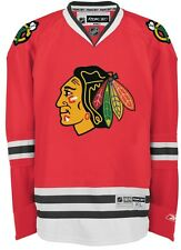 Chicago Blackhawks Reebok Premier 7185 HOME Red Jersey Medium