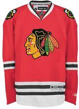 Chicago Blackhawks Reebok Premier 7185 HOME Red Jersey 4XL XXXXL