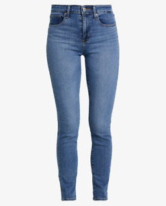 Levis 721 Jeans High Rise Skinny Women's 25, 26, 27, 28  18882-0398