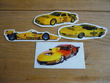 PENNZOIL STICKERS DECALS BADGES x 4 jm