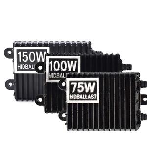 150W 100W 75W AC HID Ballast Replacement Slim for Lamp Xenon Light Conversion