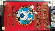 Jimi Hendrix Flying Eyeball Rick Griffin BG-105 Original 1968 2nd Print Poster