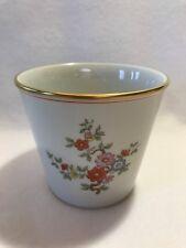 Augarten Wien Porcelain Flower Pot-Pattern # 5849-Made In Vienna, Austria