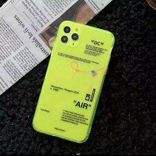 Iphone 10 11 12 Pro Handyhülle Neon Case Tasche TPU Silikon Transparent Sneakers