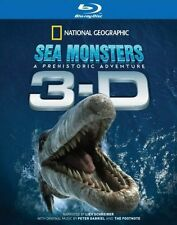 Sea Monsters 3D 2D -A Prehistoric Adventure (Blu-ray) **New Sealed** - Region B