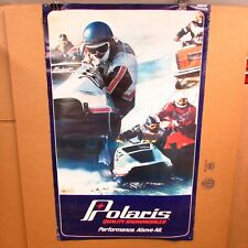 Vintage Snowmobile Polaris Tx Racing Snowmobile Poster (Performance Above All)