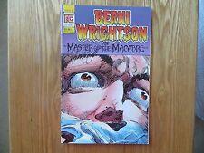 1983 MASTER OF THE MACABRE # 1 SIGNED CREATOR & ARTIST BERNI WRIGHTSON, WITH POA