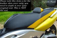 Amarillo Y Negro Custom Fits Yamaha T-max Xp 500 2001-2007 Doble Bicicleta Cubierta De Asiento