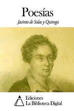 Poesías by Jacinto de Salas y Quiroga (2014, Paperback)