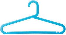Set de 5 Plastique Bleu Manteau Cintre Jupe Pantalon Costume