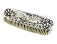 La Pierre Mfg Co. Art Nouveau Sterling Silver Vanity Clothes Brush, c1900