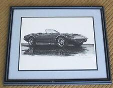 1972 Corvette Print by Goran Skalin - Numbered 45/975