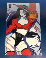 SHI SENRYAKU #1 Crusade Comics signed by William Tucci & Joe Quesada
