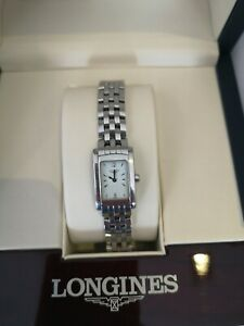 Longines dolce vita ladies watch. Model number L5.184.4. With box and papers.
