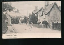 Nottinghamshire Notts CARLTON-ON-TRENT Village scene local children 1905 PPC