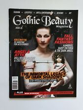 Gothic Beauty Magazine Issue 37 Immortal Legacy of Dark Shadows Fall Fantasy