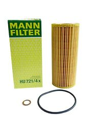 Original MANN Ölfilter HU721/4x für BMW 3, 5, 6, 7, X3, X5, X6 - E46, E90, E91