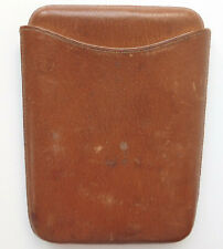 Vintage leather cigar case by John Pound London good quality mens accessories