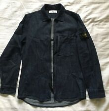 "Genuine Stone Island Denim over shirt Jacket XXL P2P 24"" Chest 48"""